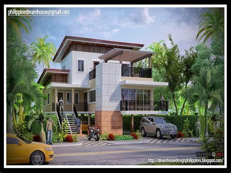 latest house design  philippines modern house design philippines elevated house designs