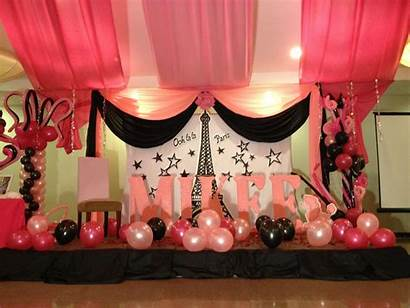 Debut Decorations Birthday Party 18th Decoration Stage