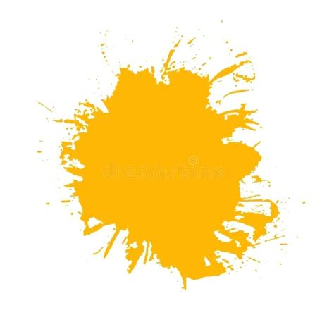 Yellow Kitchen Theme Ideas - paint splash download vector of brush strokes stock illustration graphic png jameso