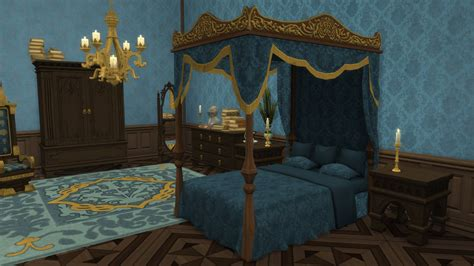 french canopy bed conversion  thejim liquid sims
