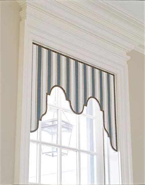 house beautiful window frames and valances on