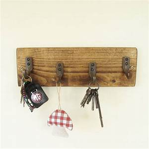 Reclaimed, Wooden, Key, Rack, By, Seagirl, And, Magpie
