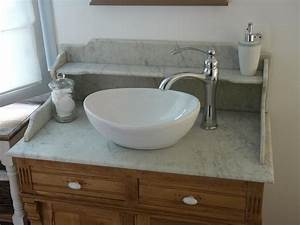 cuisine salle de bain With meuble salle de bain dessus marbre
