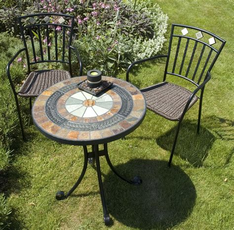mosaic patio table europa villena mosaic bistro table