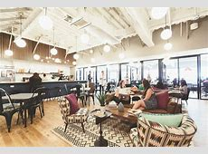 A Tour of WeWork's Cool Santa Monica Coworking Space
