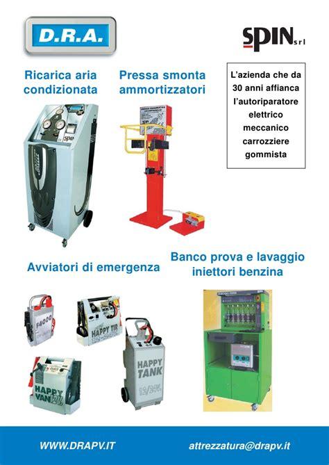 attrezzatura da carrozziere depliant attrezzature dra 2009
