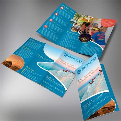 attractive tourist brochure templates sample templates
