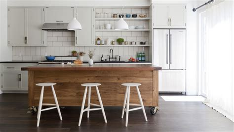 how big is a kitchen island simo design puts large kitchen island on wheels