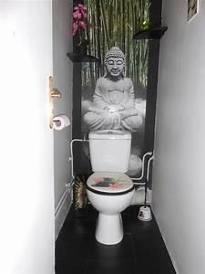 deco pour wc zen With quelle couleur pour des toilettes 2 une deco originale pour vos toilettes