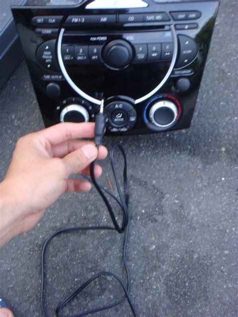 diy radio removal add  aux input page  rxclubcom