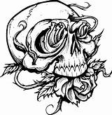Pages Halloween Coloring Printable Adults Colouring sketch template