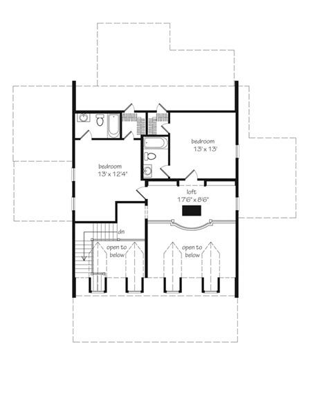 southern living floorplans eastover cottage watermark coastal homes llc southern living house plans