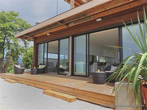 cuisine maison passive ecologique 195 energie positive et eco construction maison en bois design
