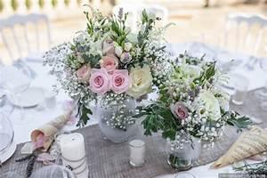 Centre De Table Champetre : 50 compositions florales shabby chic pour vos centres de ~ Melissatoandfro.com Idées de Décoration