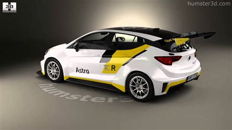 Opel Astra Tcr 2016 3d Model By Humster3d.com