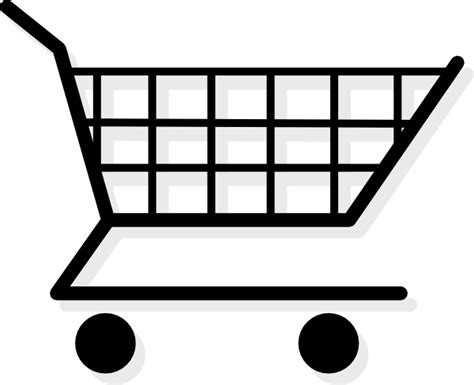 Shopping Cart Clipart Shopping Cart Clip Free Vector In Open Office Drawing