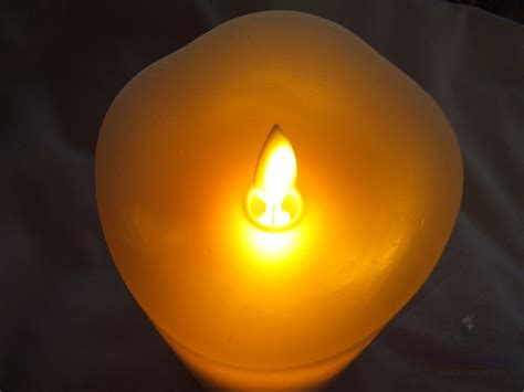 review of comenzar 5 inch led flickering flameless candle