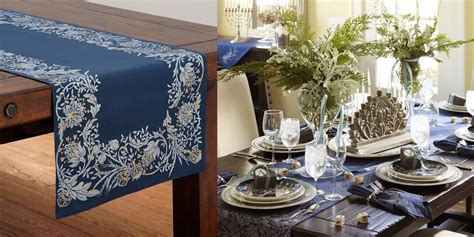 10 Decorating Ideas For Hanukkah Table