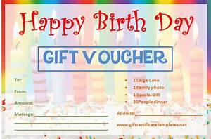 Gift Certificate Template Word Free Download Candle Birthday Gift Certificate Template Gift Certificates