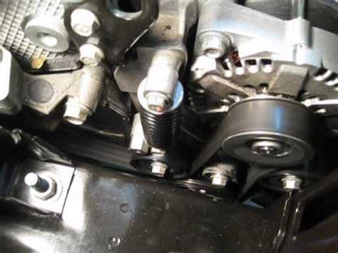 saturn vue green  hybrid bas belt auto stopstart