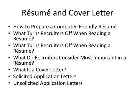 how important is a cover letter business communication workshop ppt 33177