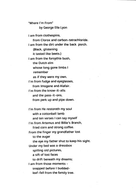 where i m from poem template pdf best photos of i am from poem pdf i am poem template who i am poem exles and i am from