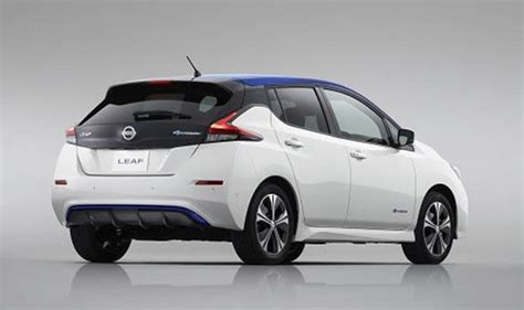 nissan leaf 2018 new electric car range specs pictures and design revealed cars