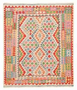 tapis kilim afghan 191 x 161 cm trendcarpetfr With tapis d orient kilim