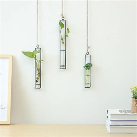 Product Of The Week Wall Hanging Glass Planters by Rectangle Glass Wall Hanging Planter Wall Hanging
