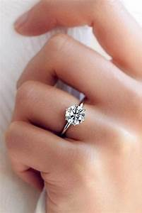 36 simple engagement rings for girls who love classic With wedding ring girl