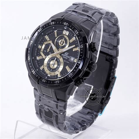 swiss army jam murah harga sarap jam tangan edifice efr 539bk 1av black gold