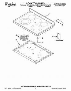 Whirlpool W10651915 Cooktop