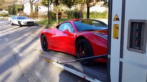 This sorry example is a ford cougar made to look like a ferrari. Ferrari 458 italia replica for sale only US$20,000 - YouTube