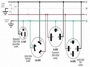 2 Pole 3 Wire 250v 300 Within L6 30r Receptacle Wiring