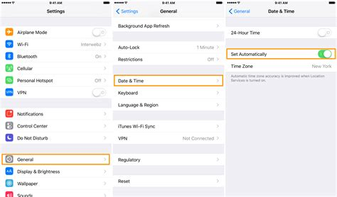 does iphone change time for daylight savings iphone or showing the wrong time try these steps
