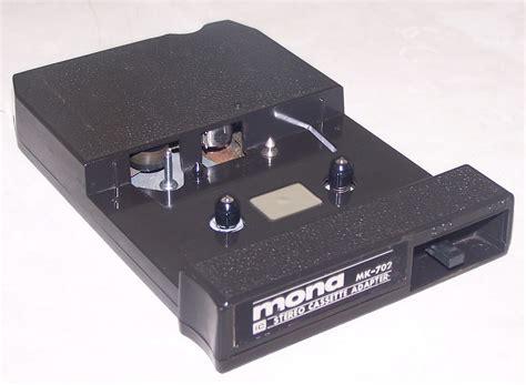 cassette converter mona maruco mk 702 8 track cassette adapter specifications