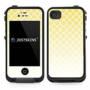 amazoncom yellow white faded quarterfoil skin decal for With kitchen colors with white cabinets with lifeproof case stickers