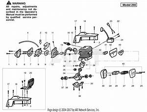 Poulan Pp255 Gas Saw  255 Gas Saw Parts Diagram For Engine 225