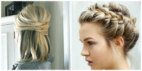 penteados faceis  cabelos curtos beleza em cachos