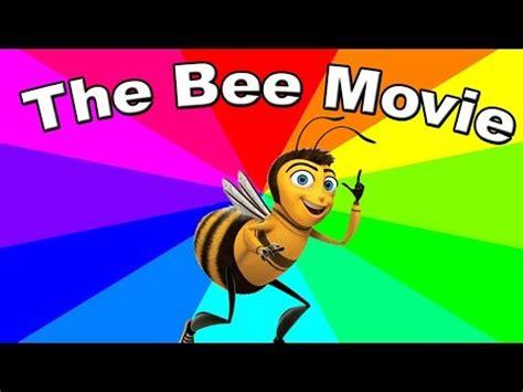 Bee Movie Script Meme - youtube music lyrics