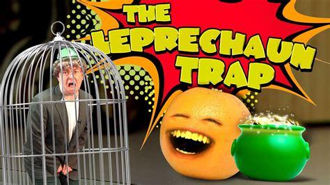 annoying orange  leprechaun trap youtube