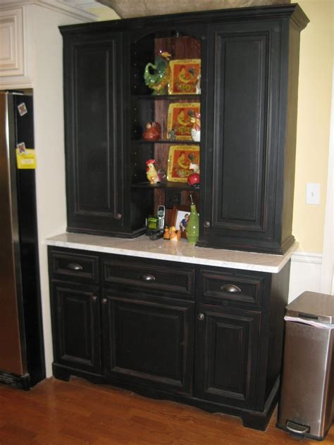handmade kitchen hutch  ken witkowski enterprises