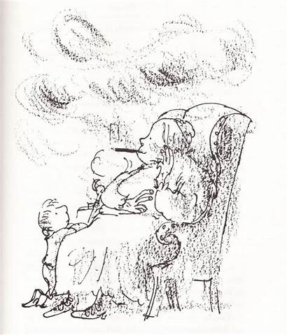 Dahl Roald Quentin Blake Witches Illustrations 1980s