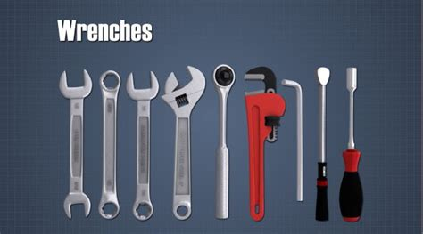Types Of Wrenches And Hammers Convergence Training