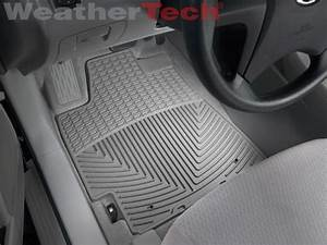 WeatherTech All Weather Floor Mats Toyota Highlander