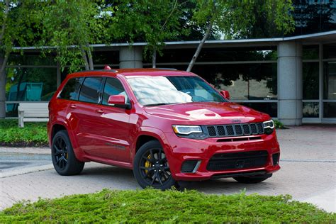 jeep grand cherokee trackhawk review behold