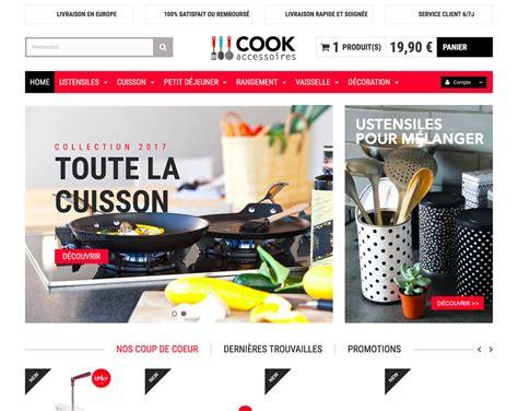 site ustensile de cuisine ustensile cuisine en dropshipping création site e