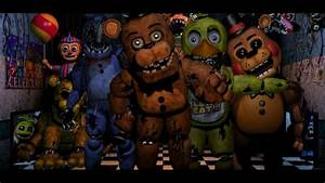 All FNAF 2 characters (2) | Five Nights at Freddy's ...