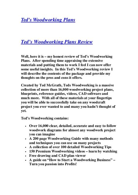 teds woodworking  woodworking plans  ebooks