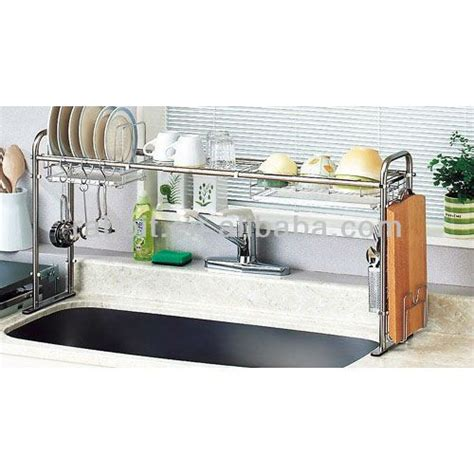 sink shelves kitchen stainless steel expandable the sink shelf form and 2276